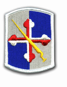 58th Infantry Brigade Military Patch