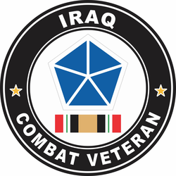 5th Army Corps Iraq Combat Veteran Decal