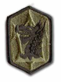 631st Field Artillery Brigade Subdued Military Patch