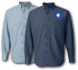 65th Arcom Division Denim Shirt