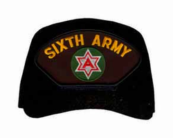 6th Army Custom Embroidered Ball Cap