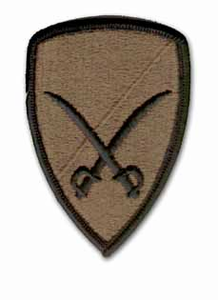 6th CavalryBrigade Subdued Military Patch