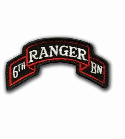 6th Ranger Battalion Military Patch