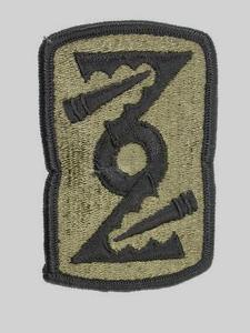 "72nd Field Artillery Subdued 3"" Military Patch"