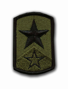 72nd Infantry Brigade Subdued Military Patch
