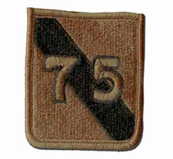 75th Maneuver Area Command Subdued Military Patch