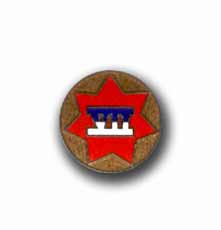 7th Army Corps Military Lapel Pin