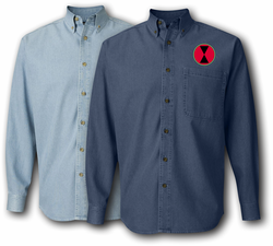 7th Infantry Division Denim Shirt