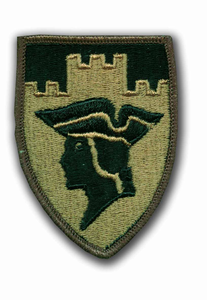 7th Reserve Command Subdued Military Patch