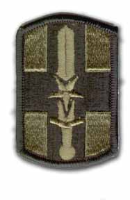 807th Medical Brigade Subdued Military Patch