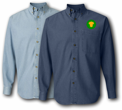87th Division Denim Shirt