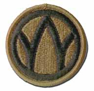89th Army Reserve Command Subdued Military Patch