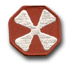 8th Army Military Patch