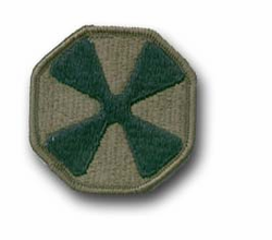 8th Army Subdued Military Patch