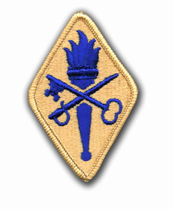 8th Field Army Support Command Military Patch