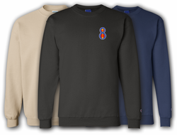 8th Infantry Division Unit Crest Sweatshirt
