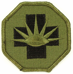 8th Medical Brigade 2.5 Inch Subdued Patch
