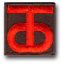 90th Army Reserve Command Military Patch