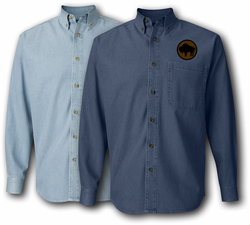 92nd Infantry Division Denim Shirt