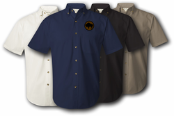 92nd Infantry Division Twill Button Down Shirt