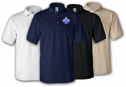 92nd Infantry Division Unit Crest Polo Shirt
