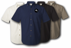 93rd Training Division Twill Button Down Shirt
