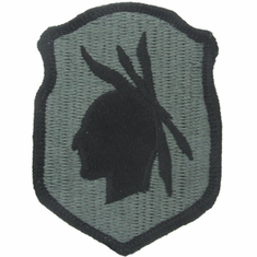 98th Infantry ACU Velcro Patch