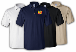 9th Infantry Division Unit Crest Polo Shirt