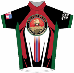 Afghanistan Campaign OEF Cycling Jersey