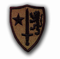 Allied Command Europe Subdued Military Patch