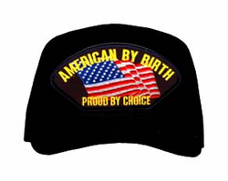 """American By Birth Proud By Choice"" Ball Cap"