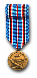 American Campaign Mini Military Medal