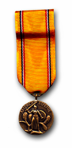 American Defense Mini Military Medal