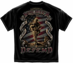 American Soldier This We'll Defend T-Shirt