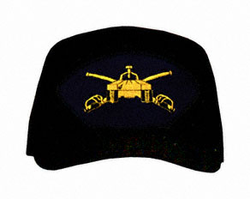 Armor Tank With Crossed Swords Logo Ball Cap