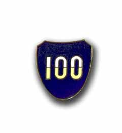 Army 100th Infantry Division Military Pin