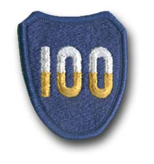 Army 100th Training Division Military Patch