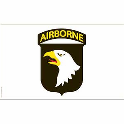 Army 101st Airborne 3' X 5' Military Flag