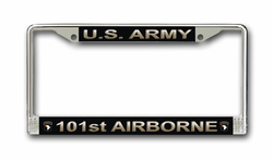 Army 101st Airborne Division License Plate Frame