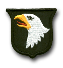 Army 101st Airborne Division Military Patch