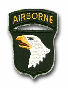 Army 101st Airborne Division (with Tab) Military Patch