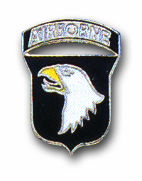 Army 101st Airborne Screaming Eagles Military Lapel Pin