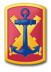 "Army 103rd Field Artillery Brigade 5.5"" Patch Decal"