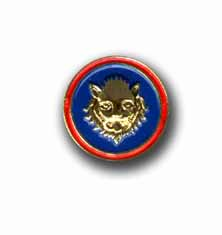Army 106th Infantry Division Military Pin