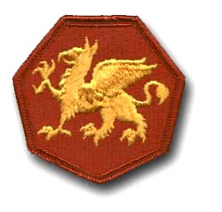 Army 108th Training Division Military Patch
