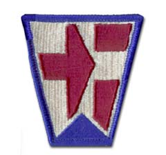 Army 112th Medical Brigade Military Patch