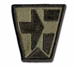 Army 112th Medical Brigade Subdued Military Patch