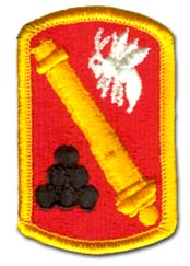 Army 113th Field Artillery Brigade Military Patch