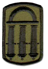 Army 118th Field Artillery Brigade Military Patch