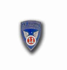 Army 11th Airborne Assault Military Lapel Pin